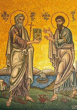 Icon of Sts. Andrew and Stachys